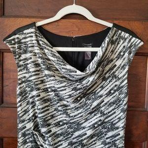 Ann Taylor Dress Grey,White, Black Size 6